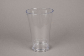 A410QX Vase en plastique tarnsparent D13cm H20cm
