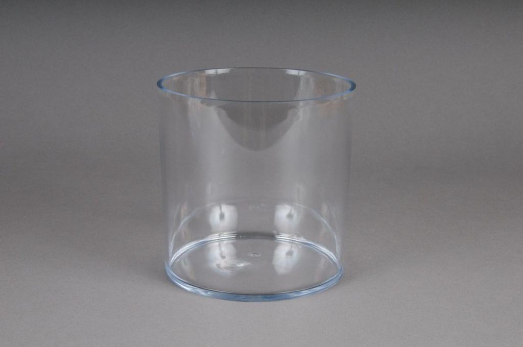 vase en plexi cristal cylindre transparent d15 h15cm. Black Bedroom Furniture Sets. Home Design Ideas