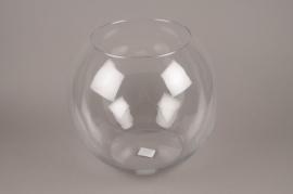 A091PQ Vase en verre boule D35cm H33.5cm