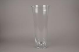 B169LE Vase glass cylinder D20cm H60cm