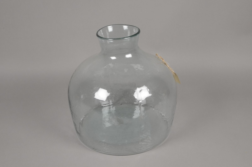 A028R4 Vase en verre D32cm H35cm