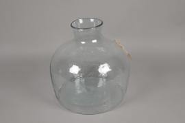 A028R4 Glass vase D32cm H35cm