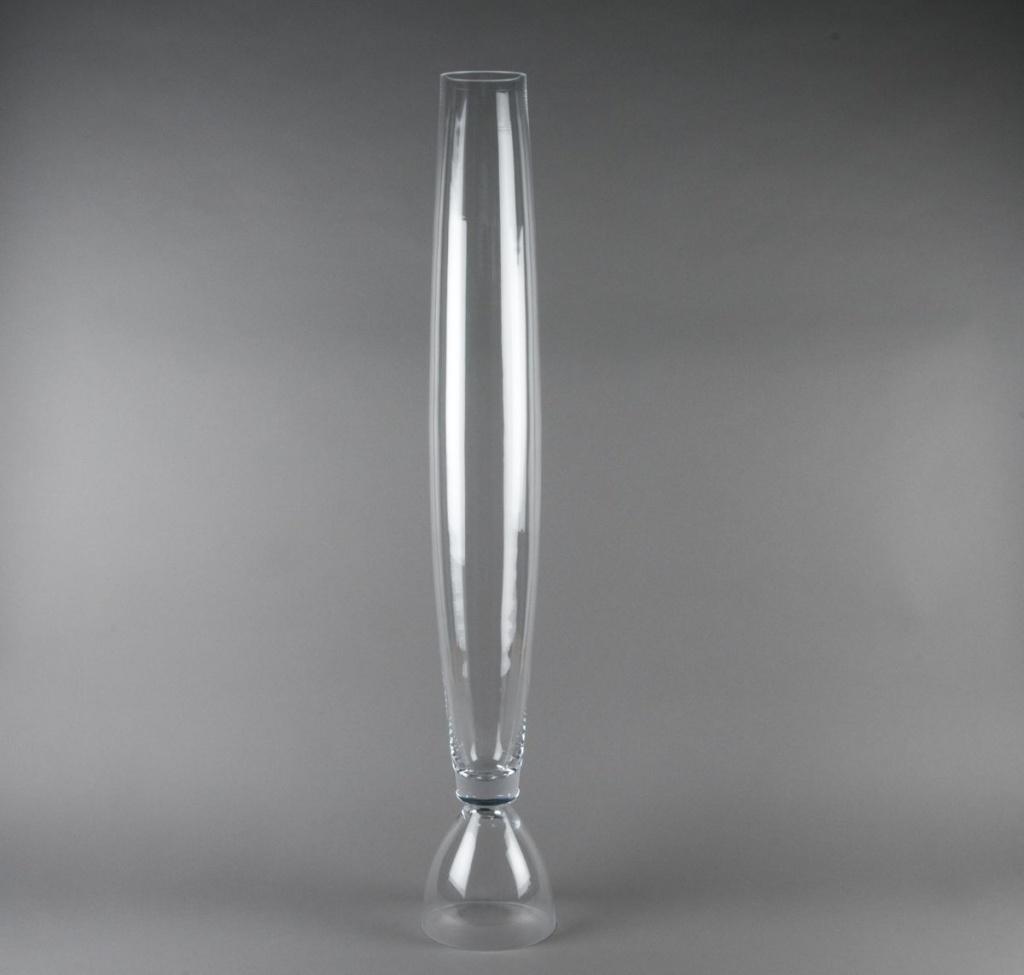 Vase en verre D9 H100cm