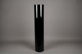 A128I0 Black glass vase D20cm H100cm