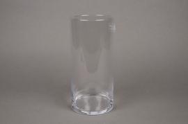 A013I0 Vase verre cylindre D11.5cm H25cm