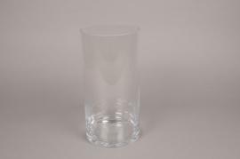 A098I0 Vase verre cylindre D15cm H30cm