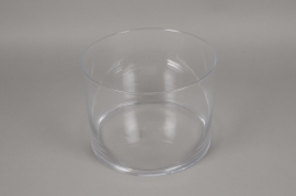 A097PQ Vase verre cylindre D27 H21cm