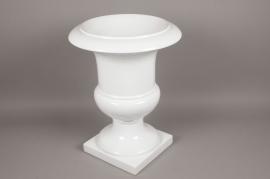 A006W7 White fiberglass medici D48cm H61cm