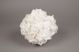 x051dh White rose petal ball D23 cm