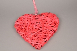 SV14RX Wicker heart red D40cm