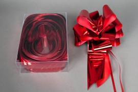 X000ZR Box of 20 red automatic knots 70mm