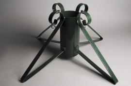 X001Y3 Pied de sapin métal vert D13cm