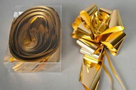 X001ZR Box of 20 gold automatic knots 70mm