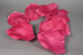 x002fz Pink roses leaves garland D22cm H150cm