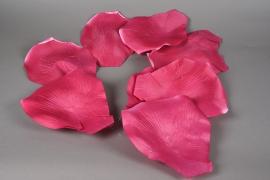 x002fz Guirlande de pétale de rose rose D22cm H150cm