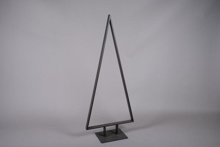 X004ZV Sapin en métal marron H160cm