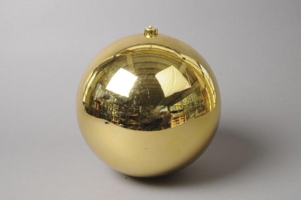 X004ZY Shinny gold plastic ball D20cm