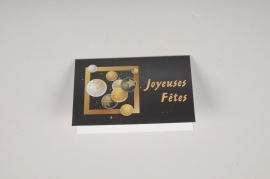X005MQ Pack of 10 postcards Joyeuses Fêtes