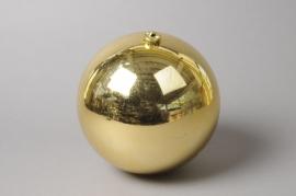 X005ZY Shinny gold plastic ball D25cm