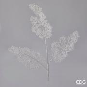 X006QL Branche de corail artificiel blanc H89cm