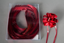 X008ZR Box of 30 red automatic knots 19mm