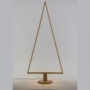 X009R5 Sapin en bois naturel lumineux LED H170cm