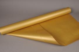 X010QX Rouleau kraft double-face or 80cm x 40m 60g