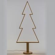 X010R5 Sapin en bois naturel lumineux LED H170cm