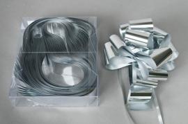 X010RB Boîte de 20 nœuds automatiques argent brillant L50mm