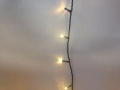 X011B1 Guirlande LED blanc chaud extérieur 20m