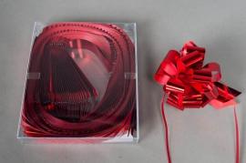 X012ZR Boîte de 30 nœuds auto rouge D30mm