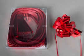 X012ZR Box of 30 red automatic knots 30mm
