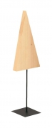 X013ZV Natural wooden christmas tree H120cm