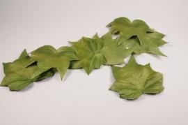 x014fz Green leaves garland D25cm H200cm