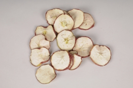 x014lw Tranches de pommes séchées rouges