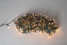 X015B1 Guirlande 400 LED ambre 24m
