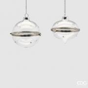 X015QL Openable glass Christmas ball D8cm