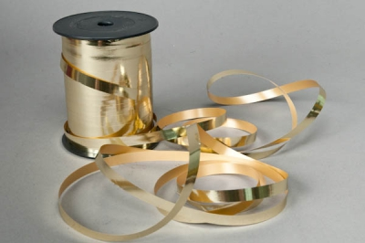 X015RB Bolduc doré 10mm x 250m