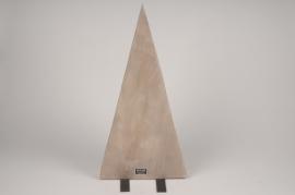 X015ZV Sapin en bois naturel D30cm H60cm