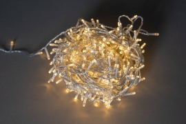 X016B1 Guirlande 400 LED blanc chaud 24m