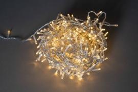 X016B1 Warm white LED twinkle light 400 bulb 24m