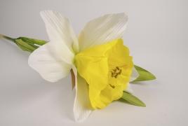 x021fz Artificial daffodil H110cm