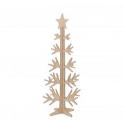 X024DQ Sapin en bois naturel H92cm