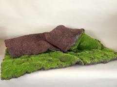 x024vb square of artificial moss 1mx1m