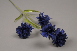 x026af Bleuet artificiel H60cm