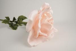 x030fz Pink artificial rose H105cm