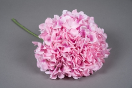 x032jp Hortensia artificiel rose H45cm
