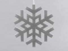 X035X4 Snowflacke silver D20cm