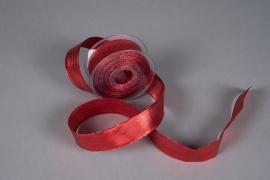 X040UN Ruban métallisé armé rouge 40mmx20m