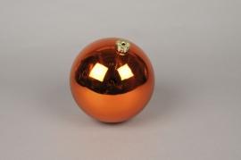 X042ZY Bright plastic ball copper D15cm